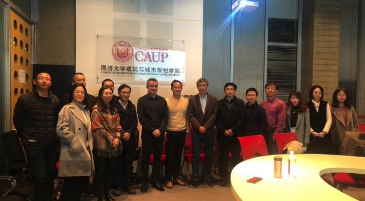 LEP zu Besuch bei Tongji Universität