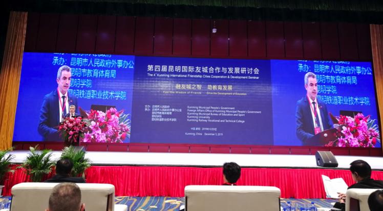 LEP nimmt an internationaler Städtepartnerschaftskonferenz teil