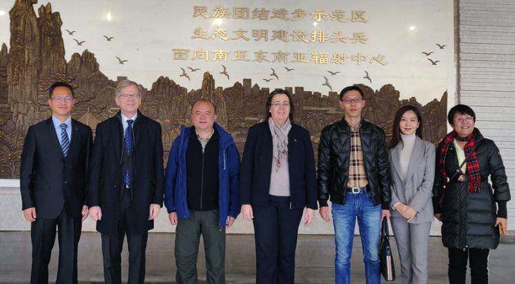 Schweizer Botschafter und Generalkonsulin besuchen Kunming