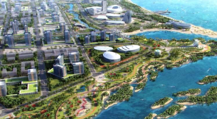 LEP和中设设计集团在国际景观规划设计竞赛中获得第二名